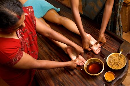 Ayurvedic medicine massage