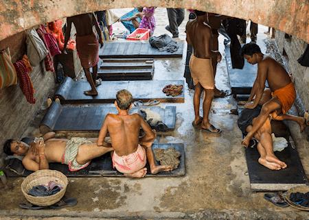 Bathhouse massage